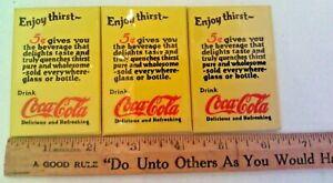 Vintage-Enjoy-Thirst-Drink-Coca-Cola-Delicious-and-Refreshing-Pocket-Mirror