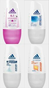 latest fashion crazy price official images Details about Adidas Womens Antiperspirant Roll On Adipower Adipure  Climacool 6in1 Cool & Care