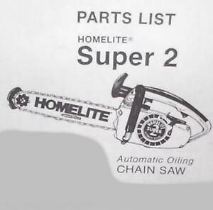 homelite xl 76 chainsaw manual