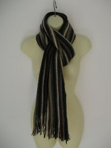Next-Mens-Boys-Brown-Mix-Winter-Scarf