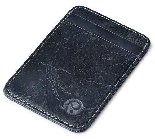UK Trendy Mini Wallet Credit Card Holder Women Men Metal Pocket ID Case New JLF