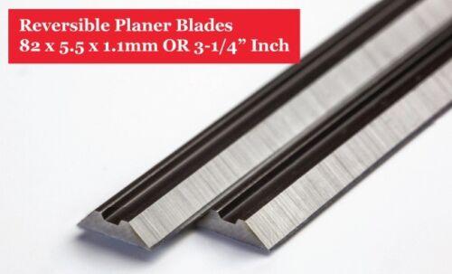 LAMES HSS pour Makita DWT RYOBI 2 pièces de lames de rechange 82 x 5.5 x 1 mm
