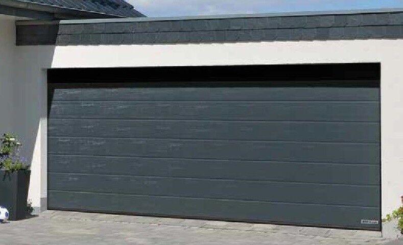 Hörmann Sektionaltor Garagentor 5000 mm breit mit Antrieb