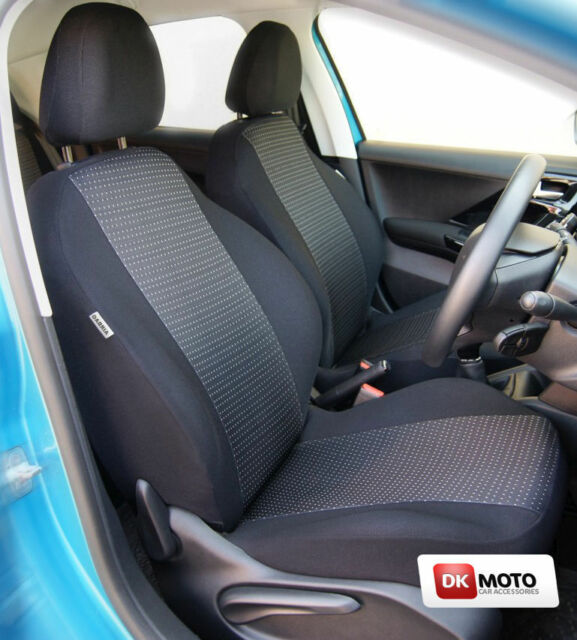 SKODA FABIA ESTATE Mk3 FROM 2014 ECO LEATHER SEAT COVERS MADE TO MEASURE FOR CAR