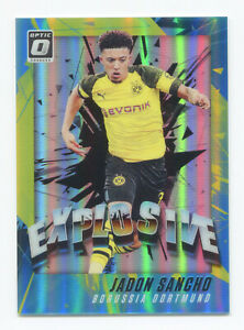 JADON-SANCHO-2018-19-Panini-Donruss-Optic-Explosive-Rookie-Holo-Silver-Prizm-RC