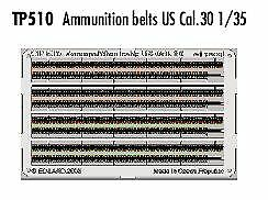 Analytique Eduard 1/35 Ammunition Belts Us Cal.30 Pré-peint En Couleur! #-afficher Le Titre D'origine