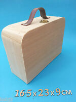 Large Wooden SUIT CASE Small also available Other CRAFT Wooden Items to decorate