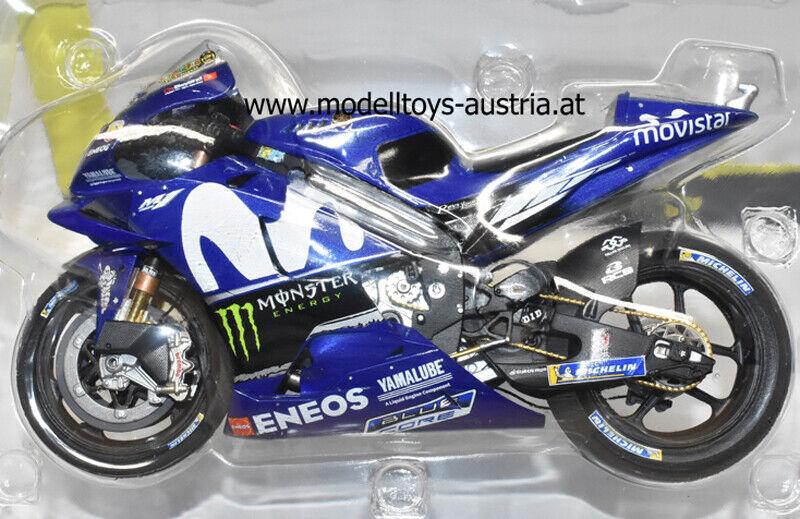 Yamaha YZR-M1 2018 Moto GP Valentino ROSSI MoviStern Yamaha MotoGP Team 1 12