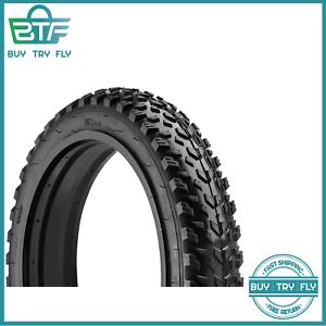 """20/"""" x 4/"""" tires Fat Tire Bike Tire Mountain Bike Accessory Heavy Duty Rubber"""