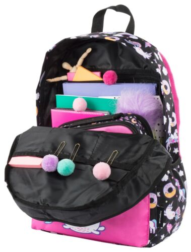 Girls Boys School Backpack Waterproof Travel Bag Fits Laptop 17/'/'