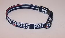 Wet Nose Designs New England Patriots Cat Collar NFL Football Red & Blue Pats