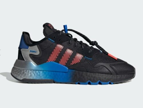 All Sizes Uk7 Adidas Originals Nite Jogger Shoes Fw4275 Boost Trainers Nmd 3m