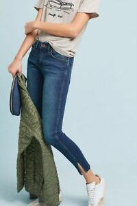 Pilcro Jeans Stet 31 Skinny Slit And Euc Letterpress Anthropologie Ankle The fAdwp4q