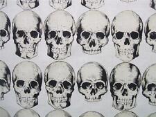 Rad Skull Natural Alexander Henry Fabric Yard