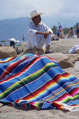 Neu Picknickmatte Mexiko Indisch Regenbogen-Decke Hauptteppich Sofa Strandmatte