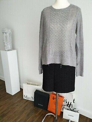 Kuscheliger OPUS Pamy Feinstrick Pullover, Strick, Mohair Mix, Grau, Größe 36 | eBay