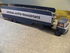 1/87 Brekina MB 328 LPS 338 Autotransporter-Sattelzug 48586