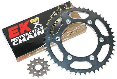 Kawasaki KX125 1990 1991 520 EK Chain Front Rear Sprocket Kit
