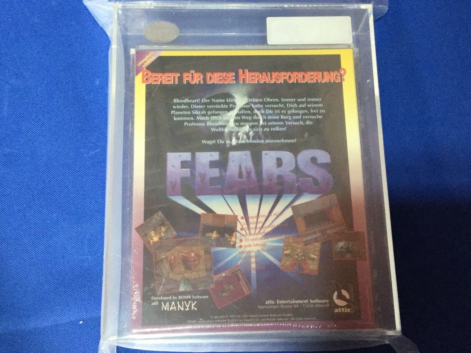 AMIGA Cd32 paure SIGILLATO Iper Rare UKG 85+ vintage gioco gioco gioco non Vga di alta qualità 007a54