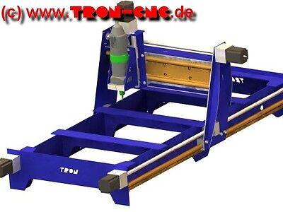 TRON-CNC Bauplan für eine Hobby CNC Fräse, Low Cost - High Fun :-)