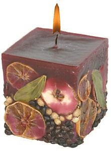 Fruechtekerze-Kerzen-Quader-bordeaux-90x90x75-mm