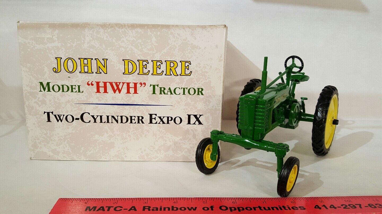 ERTL John Deere  HWH  1 16 diecast farm tractor REPLICA DE COLLECTION