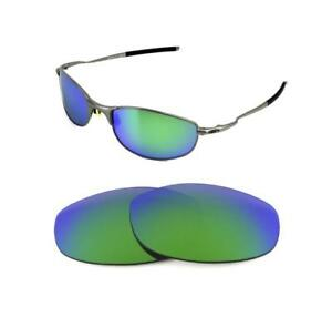 102b386a6f Details about NEW POLARIZED CUSTOM GREEN LENS FOR OAKLEY TIGHTROPE  SUNGLASSES