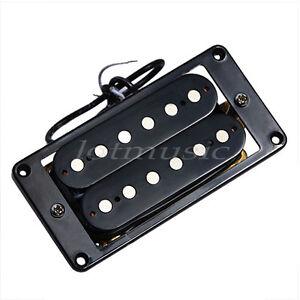 electric guitar double coil humbucker pickup bridge and neck pickups set black 634458318846 ebay. Black Bedroom Furniture Sets. Home Design Ideas