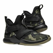 huge selection of 65116 85e48 Nike Men's Size 11.5 Lebron Soldier XII SFG Black Hazel Rush ...