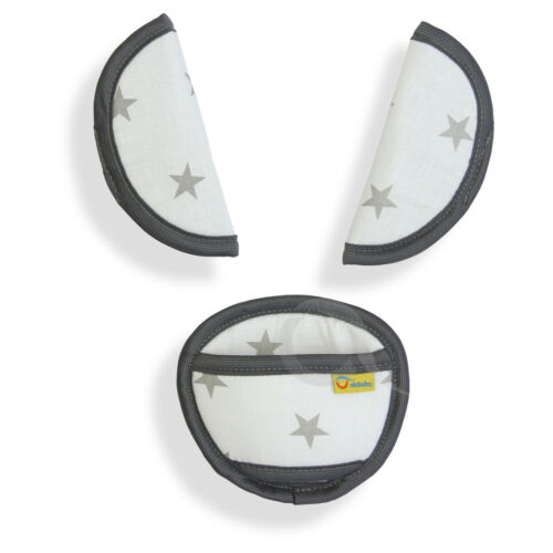 Soft belts pads shoulder STRAP CROTCH cover UNIVERSAL fit ALL seats  100/% COTTON