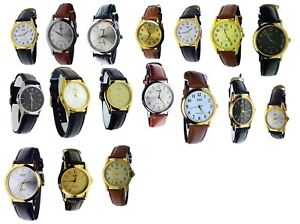 New-Casio-Round-Leather-Band-Casual-Watch-Varieties-to-choose-Water-Resistance