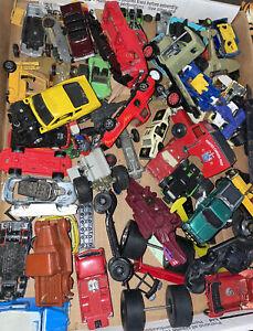 VINTAGE DIE-CAST & parti in plastica JUNKYARD LOTTO Auto Camion Matchbox HOT WHEEL ++++
