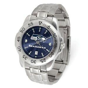 NFL-Seattle-Seahawks-Men-Sport-Steel-Watch-Style-XWM3542-79-90