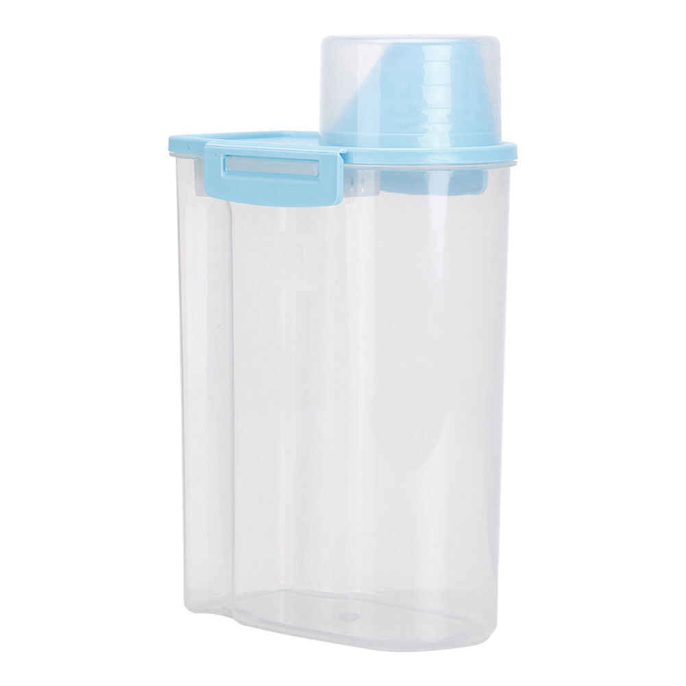 2.5L Large Dry Food Storage Container Scoop Plastic Cereal P