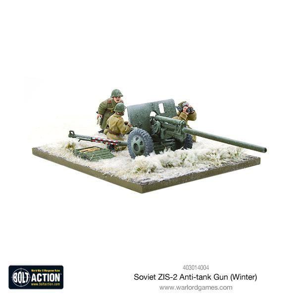 Warlord Games - Soviet ZIS-2 Anti-tank Gun (Winter) 28mm Bolt Action Union