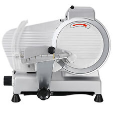 Food Cheese Electric Slicer Deli Stainless Slicer 240w 530rpm 10 Blade