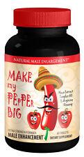 "Male Enhancement Pills - ""Make My PEpPEr Big"" - Male Stamina - 60 Tablets"