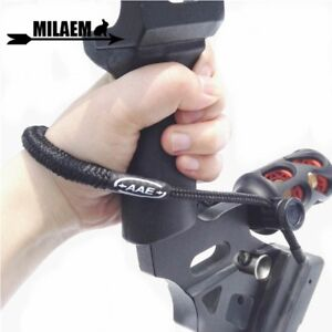 Archery-Adjustable-Wrist-Sling-Strap-Braided-Nylon-Cord-Rope-Compound-Bow-Shoot