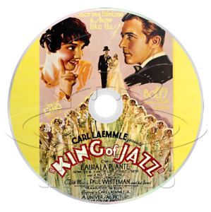 Details about King of Jazz (1930) Animation, Comedy, Music Movie / Film on  DVD