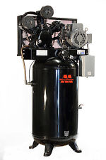 Baldor 7.5 HP Motor Monofásico 80 Galones Compresor de Aire Vertical