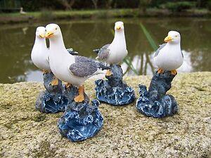 18015 Quatre Figurine Mouette Marine Oiseau Neuve A2hghxds-08013209-502774105