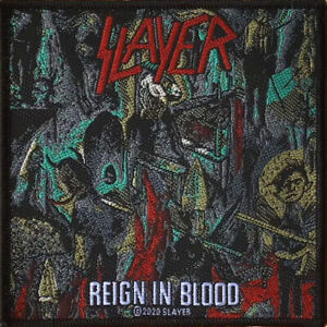 Slayer - Reign In Blood Patch 10cm x 10cm