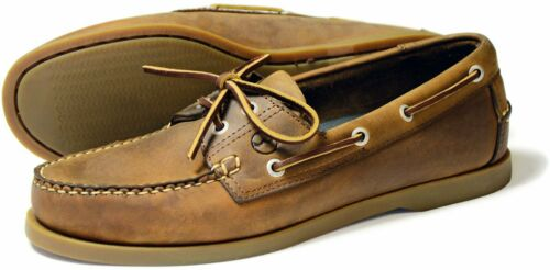 Orca Bay Creek Mens Sand Nubuck Leather Deck Shoes
