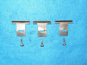 1971 1972 1973 Mustang Coupe Grande Cougar GT Xr7 ORIG REAR PACKAGE TRAY CLIPS