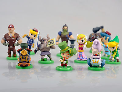 The Legend of Zelda Mini Figure Furuta Choco egg Full 11pcs Set,X'mas gift