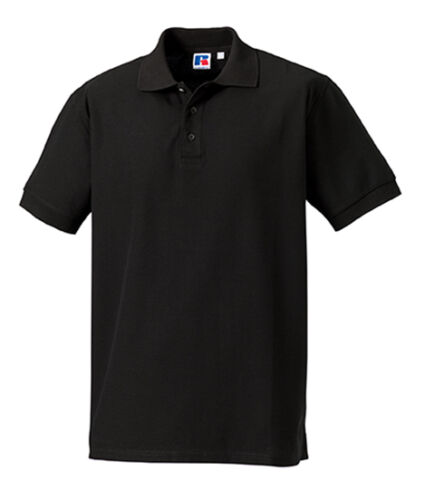 4XL Übergröße Neu Russell Herren Poloshirt Shirt 215 g//m² Kurzarm Baumwolle S