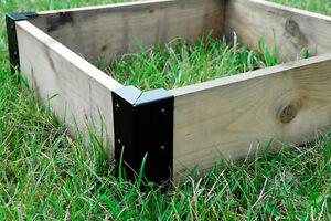 Image Is Loading Small Corner Brackets Raised Bed Bedding Vegetable Planter