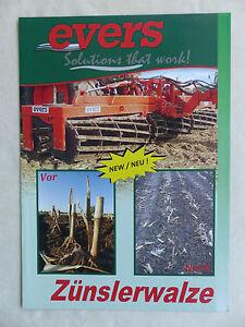 Evers Pyrale Rouleau Mr 300/600-prospectus Brochure (0871-afficher Le Titre D'origine