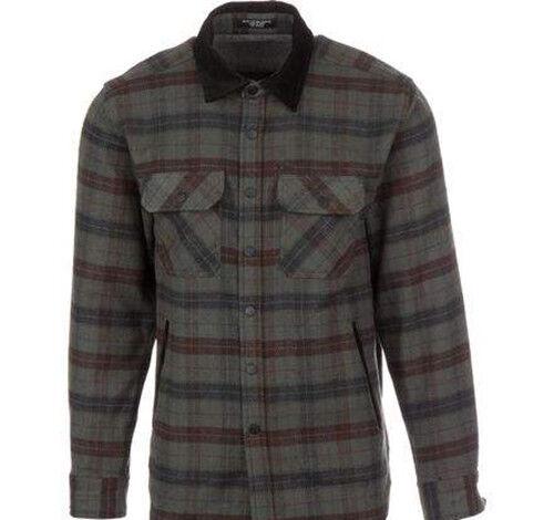 MATIX Pathfinder Flannel Shirt (L) Charcoal
