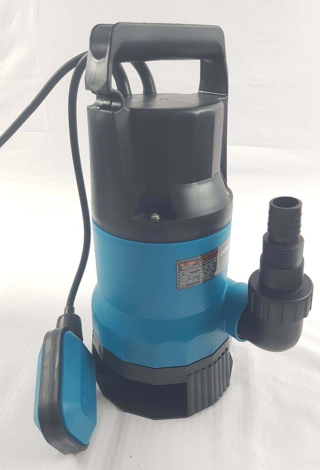 151653 750W Heavy Duty Submersible Garden Pond Dirty& Clean Water Pump